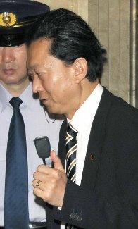 鳩山首相のグッドサイン