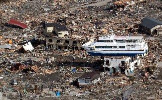 大津波の被害壮絶