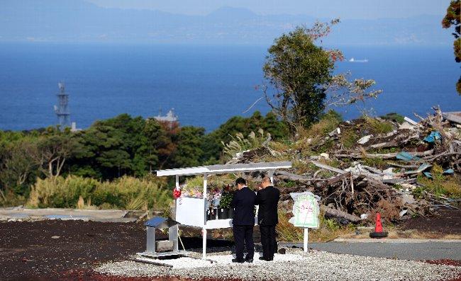 亡き人を想う。伊豆大島土砂災害発生から1年