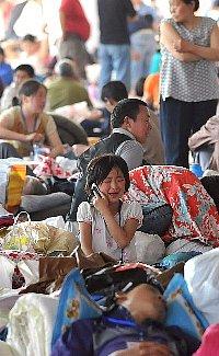 四川大地震・お母さんにあいたい